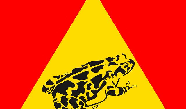 Achtung Krötenwanderung